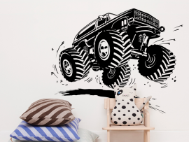 Sticker Monster Truck