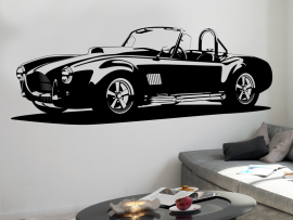 Sticker Voiture Shelby AC Cobra