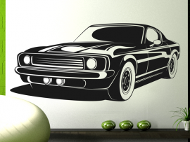 Sticker Voiture Mustang