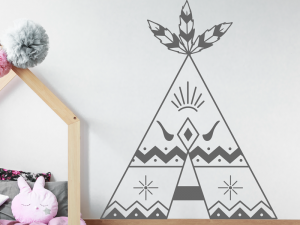 Sticker Tipi Boho
