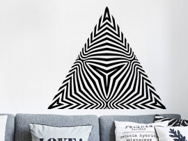 Sticker Pyramide Illusion