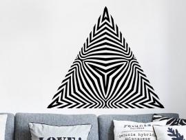Sticker Pyramide Illusion