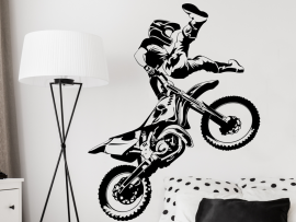 Sticker Moto Cross Freestyle