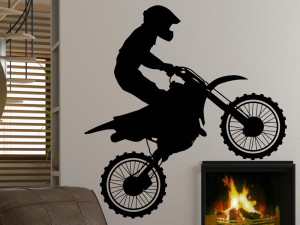 Sticker Moto Cross 2