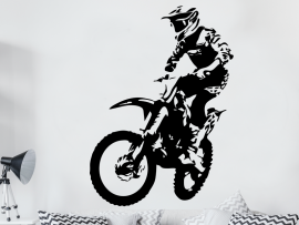Sticker Moto Cross 3
