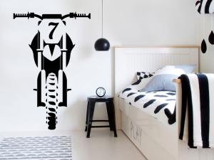 Sticker Moto Cross personnalisée