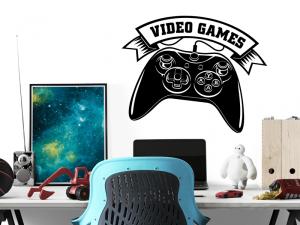 Sticker Video Games