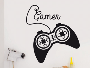 Sticker Manette Jeu Video