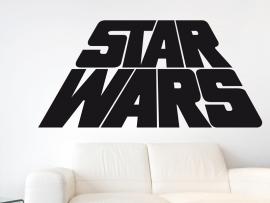 Sticker Star Wars Text