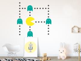 Sticker Pacman