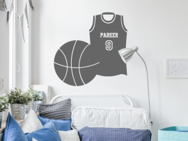 Sticker Tee-shirt Basket-ball