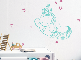 Sticker Licorne Power