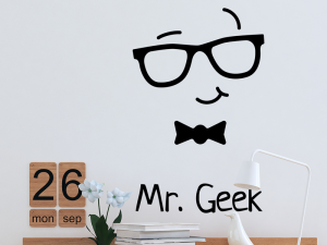 Sticker Mr. Geek Game