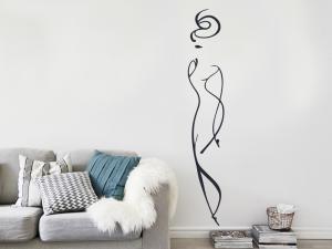 Sticker Silhouette Femme Design