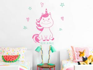 Sticker Petite Licorne
