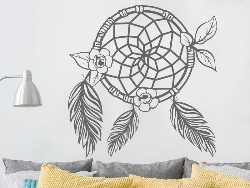 sticker capteur de r ve plumes magic stickers. Black Bedroom Furniture Sets. Home Design Ideas