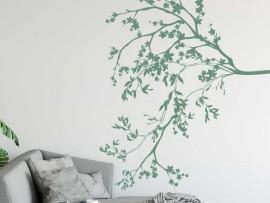 Sticker Branche Florale Cerisier
