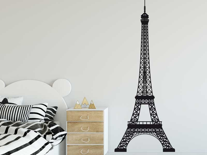 sticker tour eiffel paris magic stickers. Black Bedroom Furniture Sets. Home Design Ideas