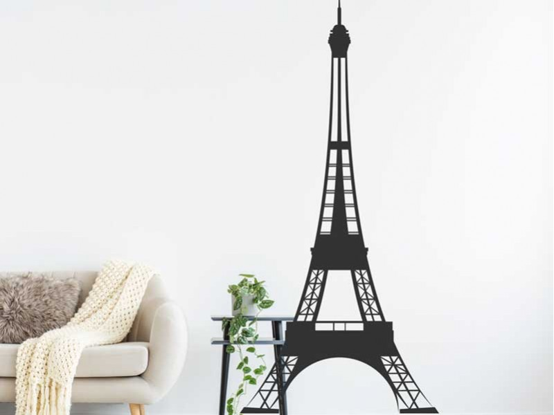 sticker tour eiffel paris 2 magic stickers. Black Bedroom Furniture Sets. Home Design Ideas