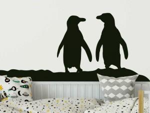 Sticker Pingouins Banquise