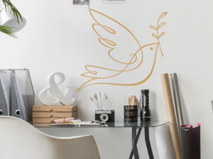 Sticker Oiseau de la Paix