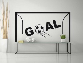 Sticker Cage de Foot Goal