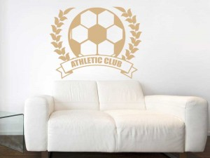 Sticker Couronne de Foot