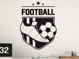 Sticker Fanion de Foot