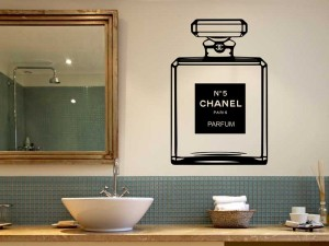 Sticker Parfum Chanel Nº5
