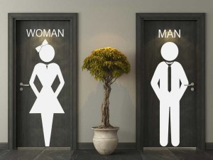 Sticker WC Women & Man