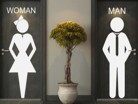 Sticker WC Women & Man