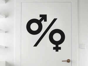 Sticker WC Masculin / Feminin