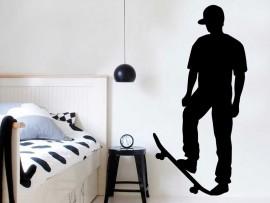 Sticker Skateur 2