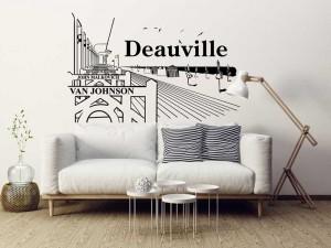 Sticker Paysage Deauville