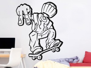 Sticker Skateur Fun