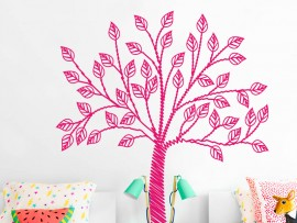 Sticker Arbre Mine Crayon