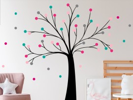 Sticker Arbre Boules 3