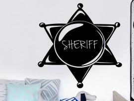 Stickers Etoile de Sherif