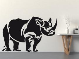 sticker autocollant rhinoceros afrique