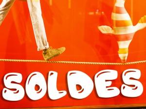 Sticker Soldes Bubble