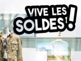 Sticker Vive les Soldes