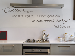Sticker Citation Cuisine P. Gauguin