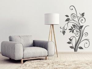 Sticker Floral Elégant