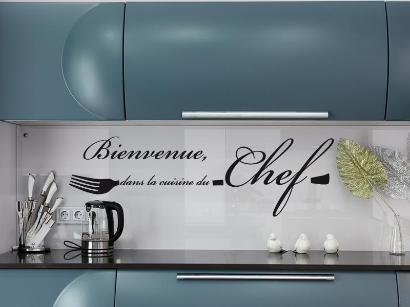 Genial Sticker Cuisine Du Chef ...
