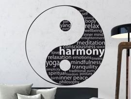 Sticker Yin-Yang Text