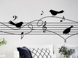 Sticker Partition Oiseaux