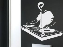 Sticker Platine de mixage DJ