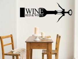 sticker autocollant vin tire bouchons
