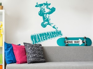 Sticker Skateboarding