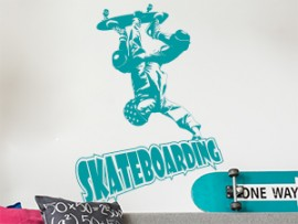 Sticker Skateboarding